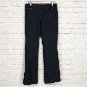 One 5 One SZ 6 Dark Wash HiRise Trouser FlareJeans